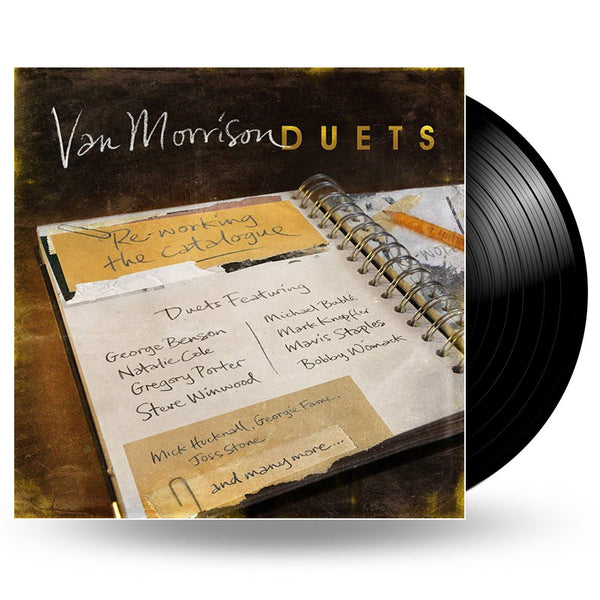 VAN MORRISON - DUETS: RE-WORKING THE CATALOGUE - LP