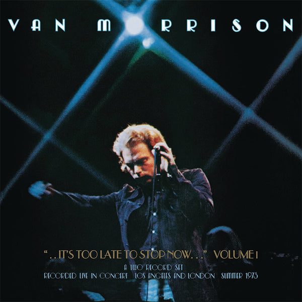 VAN MORRISON - ..IT'S TOO LATE TO STOP NOW...VOLUMES II, III, IV & DVD - BOXSET