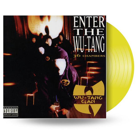 WU-TANG CLAN - ENTER THE WU-TANG CLAN - Colour LP