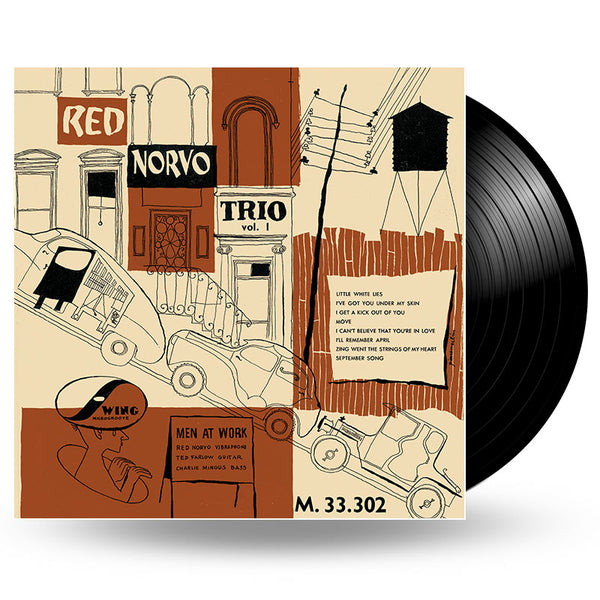 RED NORVO TRIO - Men At Work vol.1 - LP