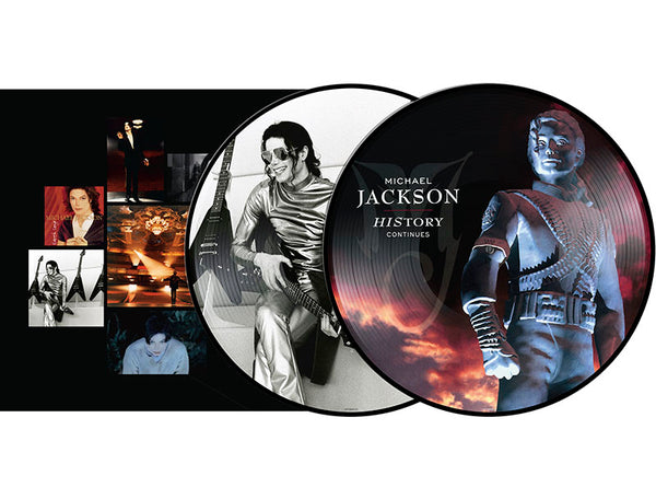 MICHAEL JACKSON - HISTORY PAST, PRESENT AND FUTURE PICTURE VINYL - 2LP