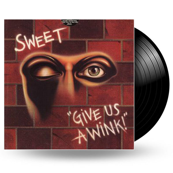 SWEET - GIVE US A WINK - LP