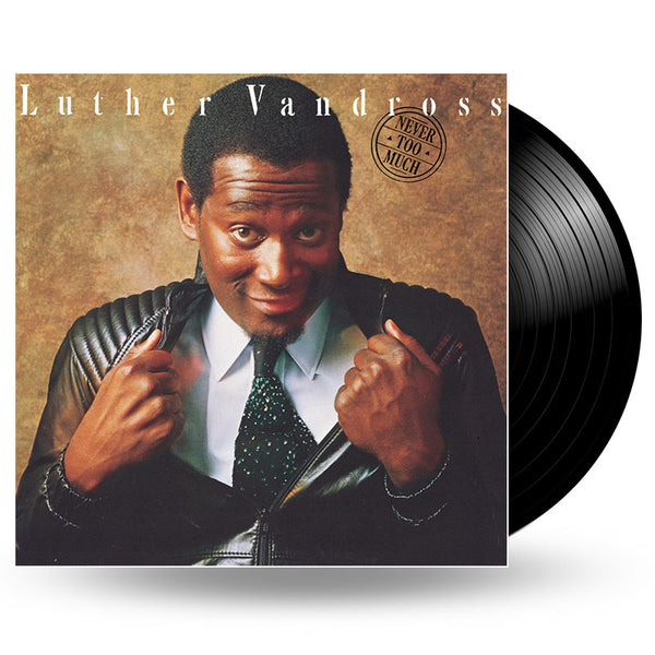 LUTHER VANDROSS - NEVER TOO MUCH - LP