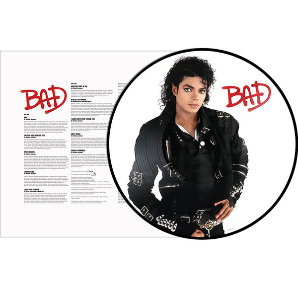 MICHAEL JACKSON - BAD PICTURE VINYL - LP