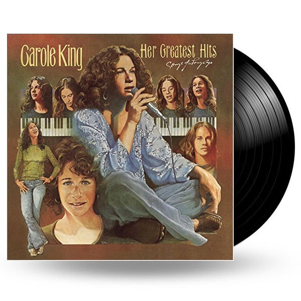 CAROLE KING - HER GREATEST HITS (SONGS OF LONG AGO) - LP