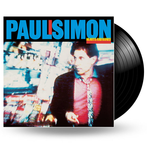 PAUL SIMON - HEARTS AND BONES - LP
