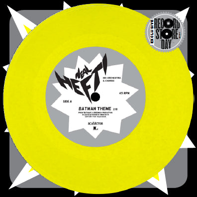 NEAL HEFTI - BATMAN THEME / THE BATUSI - 7""