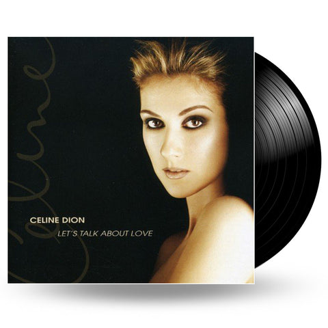 CELINE DION - LET'S TALK ABOUT LOVE - 2LP
