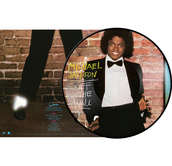 MIHAEL JACKSON - OFF THE WALL PICTURE VINYL - LP