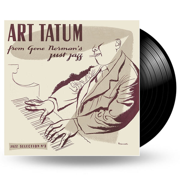 ART TATUM - From Gene Norman's Just Jazz - LP