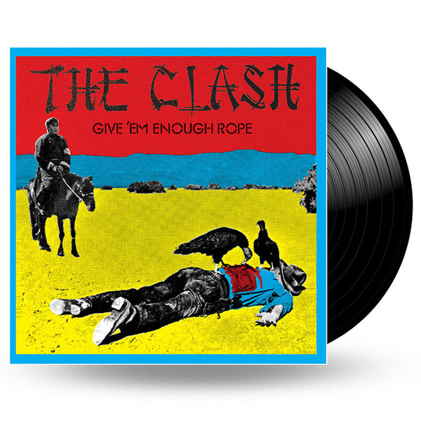 THE CLASH - GIVE EM' ENOUGH ROPE - LP (USE WHEN OTHER SELLS OUT)