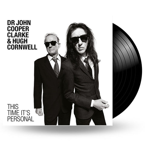 Dr John Cooper Clarke & Hugh Cornwell - THIS TIME IT'S PERSONAL - LP
