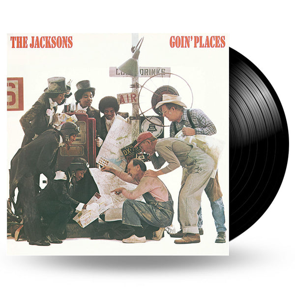 THE JACKSONS - GOIN PLACES - LP
