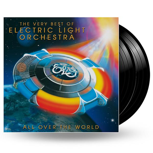 ELO - ALL OVER THE WORLD: THE VERY BEST OF ELECTRIC LIGHT ORCHESTRA - 2LP