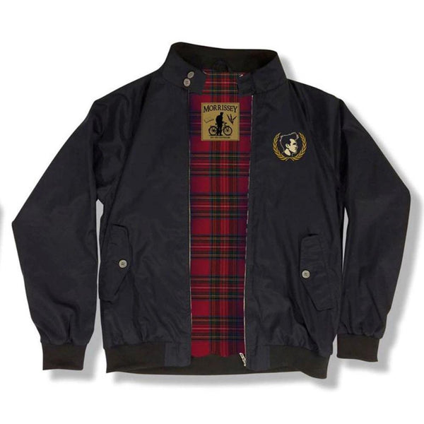 M HARRINGTON BLACK JACKET