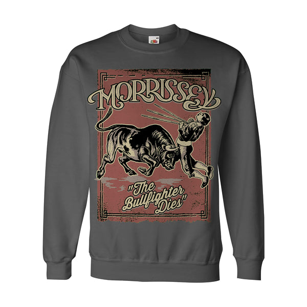 CHARCOAL BULLFIGHTER SWEATSHIRT