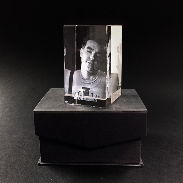 Morrissey 3D Crystal – England Is Mine
