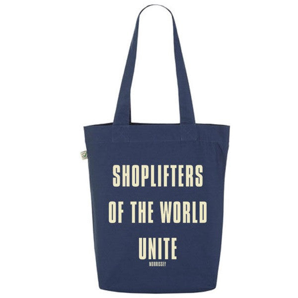 DENIM SHOPLIFTERS TOTE BAG