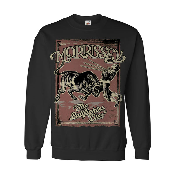 BLACK BULLFIGHTER SWEATSHIRT