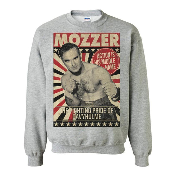 BOXER SWEATSHIRT GREY