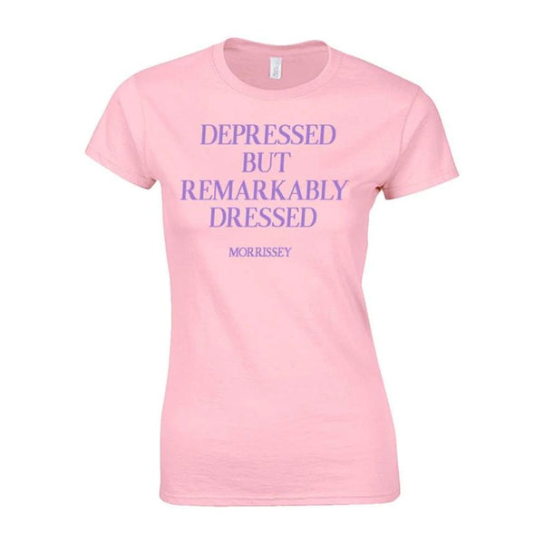 REMARKABLY DRESSED PINK LADIES TEE LADIES