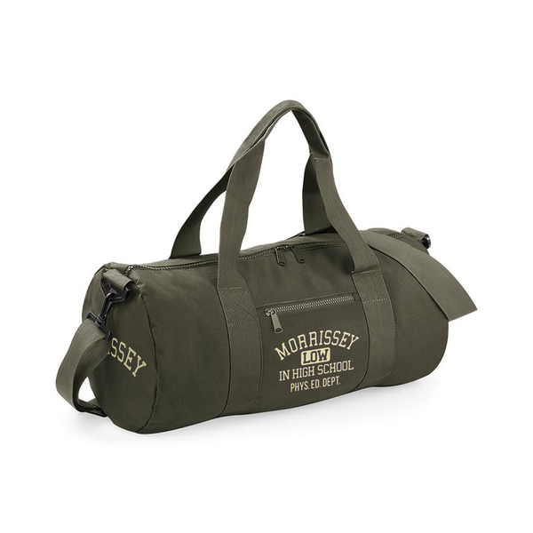 LIHS MILITARY GREEN GYM BAG