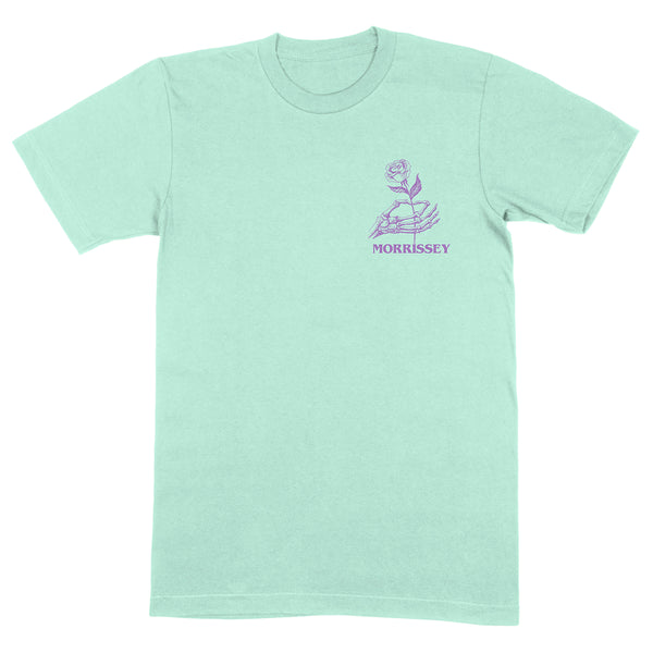 LOVE IS HAND & ROSE MINT T SHIRT