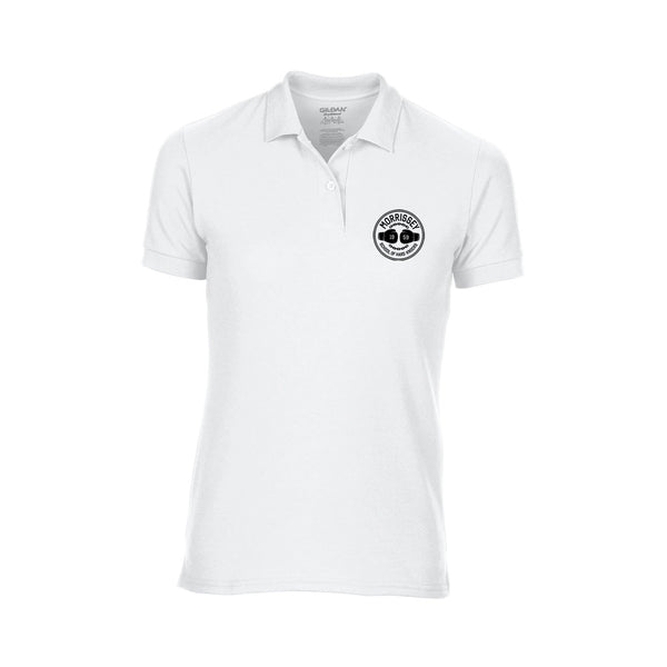 HARD KNOCKS LADIES WHITE POLO