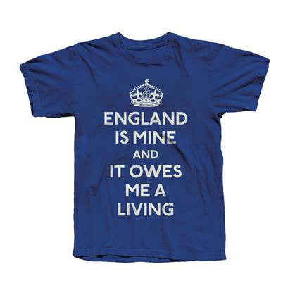 ENGLAND IS MINE ROYAL BLUE TEE