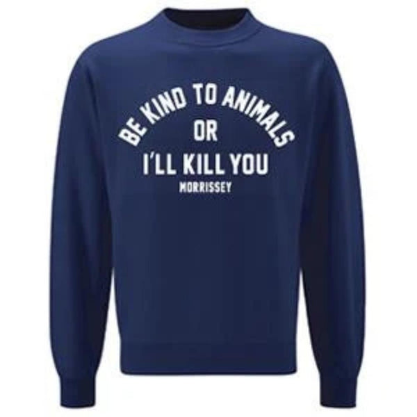 Navy Be Kind Sweatshirt