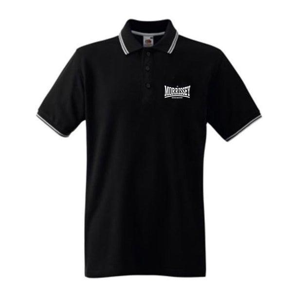 Mozdale Tipped Black Polo