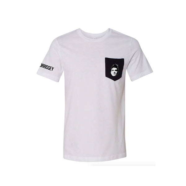EVERYDAY FACE POCKET T-SHIRT WHITE
