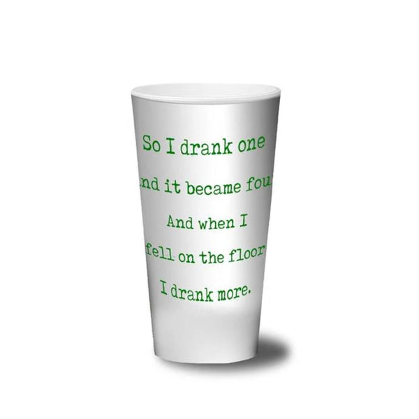 REUSABLE PLASTIC PINT CUP