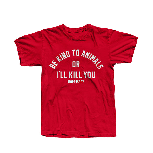 BE KIND RED T-SHIRT