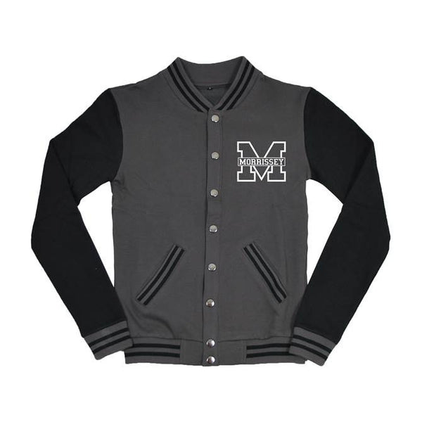 Grey/Black Varsity Jacket