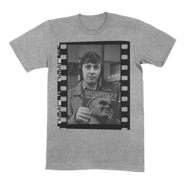 NEVILLE BUSWELL GREY TEE