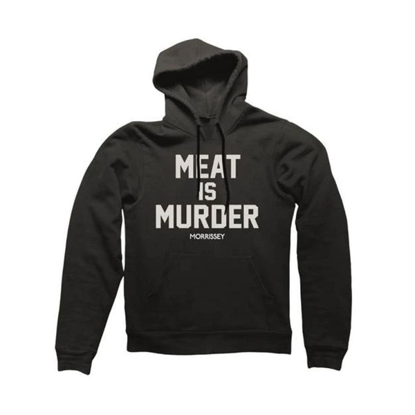 MEAT IS MURDER BLACK HOODY