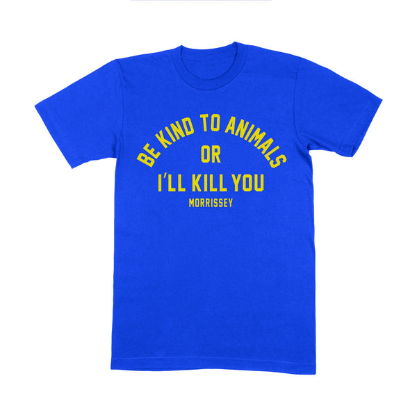 Be Kind T-Shirts - Blue/Yellow