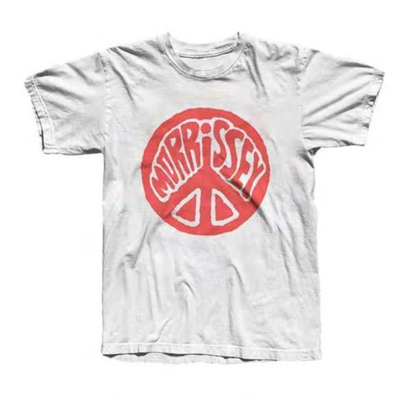 Peace Sign White Tee