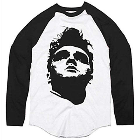 59 BASEBALL TEE WHITE / BLACK