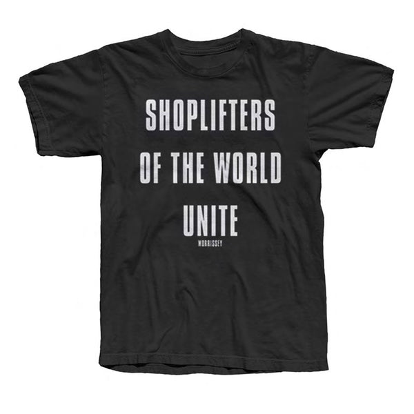 Shoplifters Tee Black
