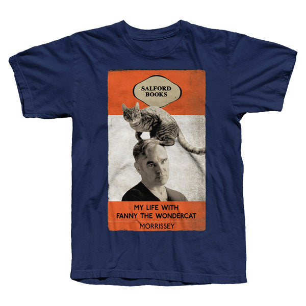 FANNY THE WONDERCAT NAVY T-SHIRT