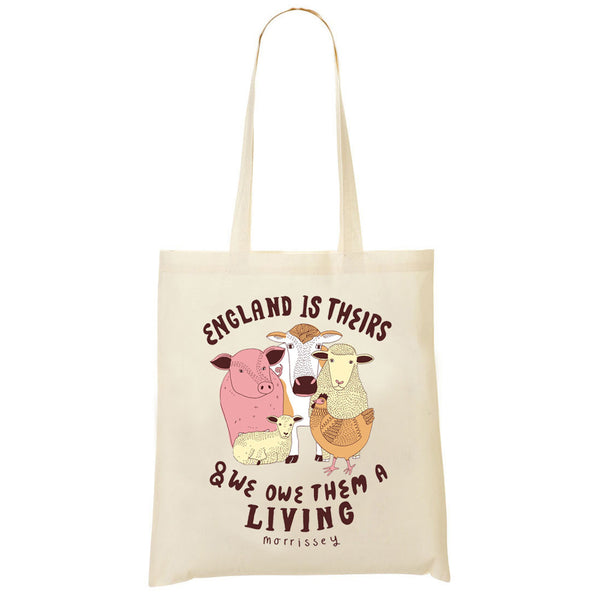 ENGLAND IS THEIRS TOTE BAG