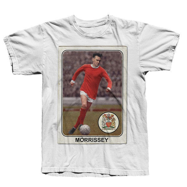 WHITE MORRISSEY UNITED T-SHIRT