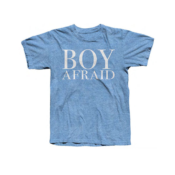 BOY AFRAID T-SHIRT HEATHER ROYAL