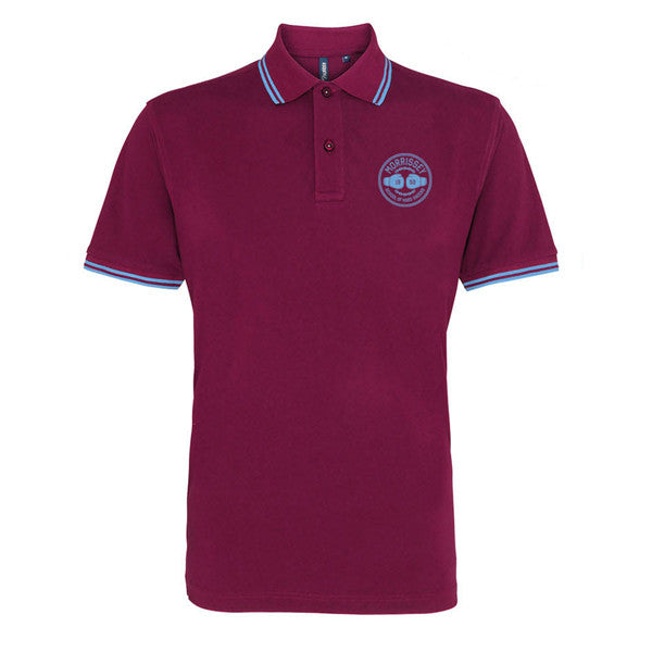 HARD KNOCKS POLO MAROON