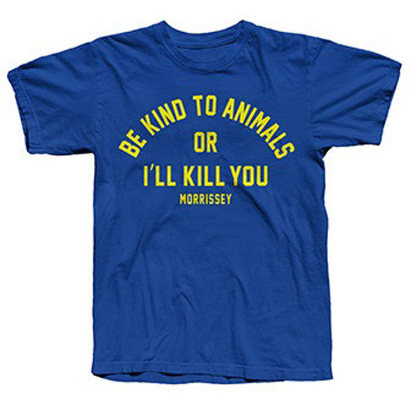 ROYAL BLUE BE KIND T-SHIRT