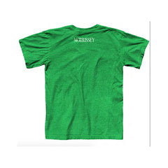 BOY AFRAID T-SHIRT HEATHER IRISH GREEN