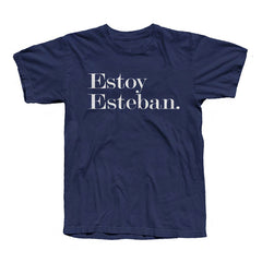 Esteban Tee Black/Navy