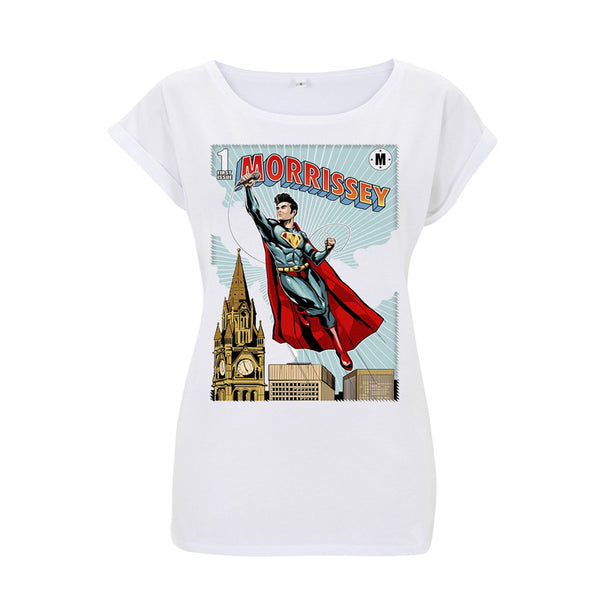 SUPERMOZ LADIES WHITE TEE